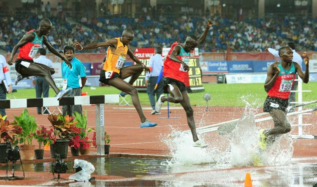 developing the steeplechaser technique and training for